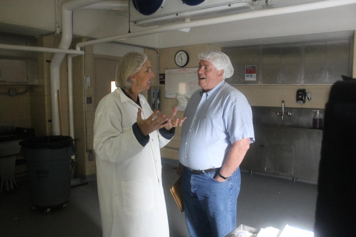 Ohio Wagyu Beef's Kim McCann and Dr. Francis Fluharty