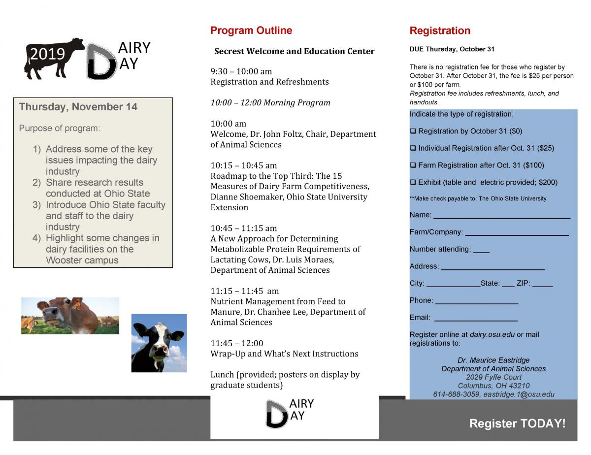 Dairy Day Brochure page 2
