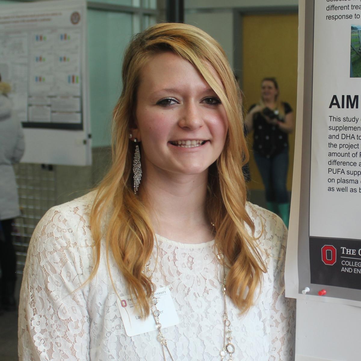 Animal Sciences Students Participate In Cfaes Undergraduate Research