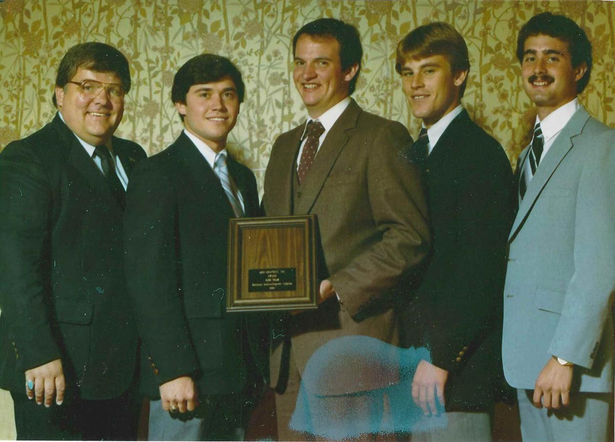 Ohio Dairy Judging Team 1983