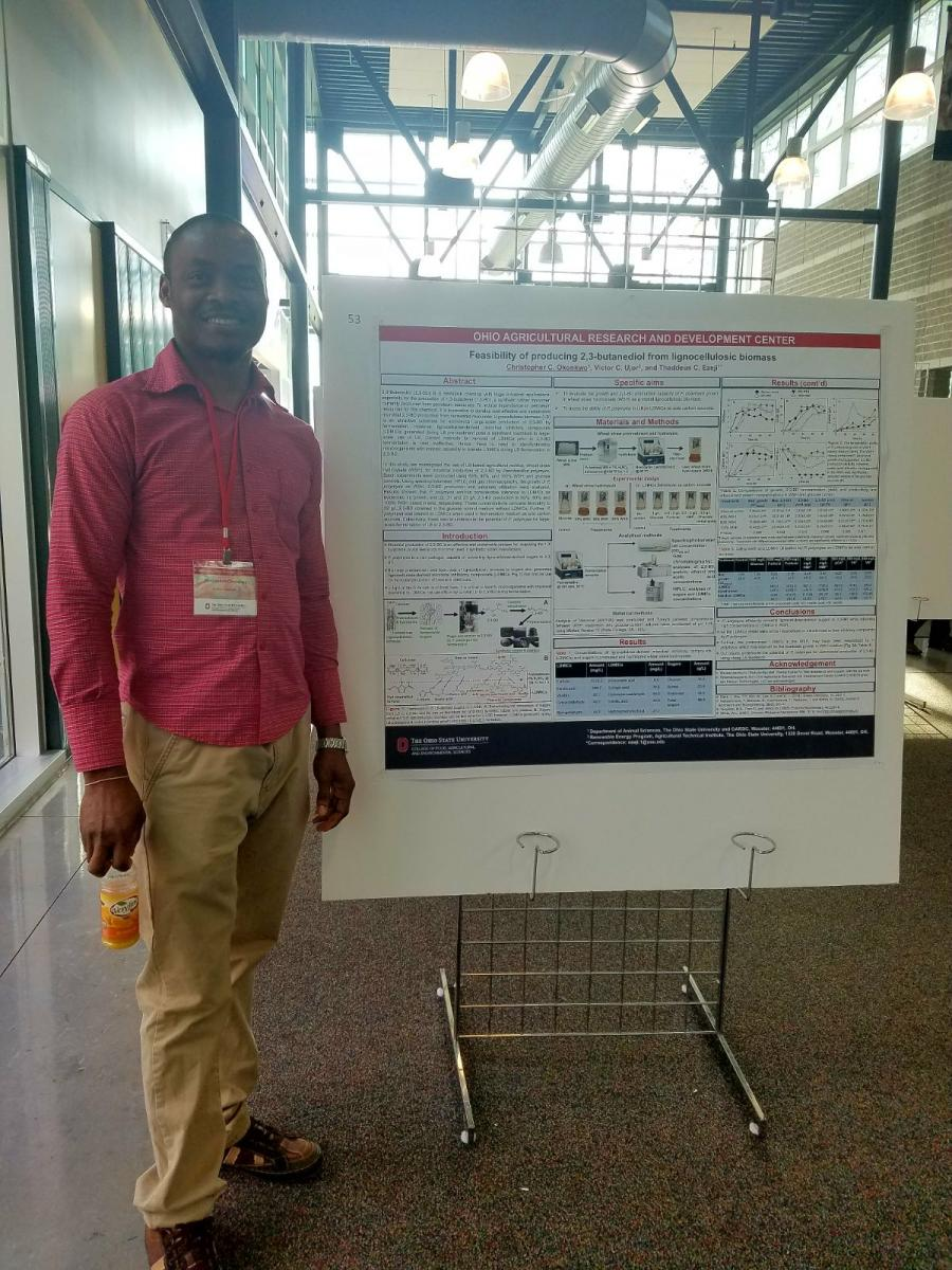 PhD Student Christopher Okonkwo