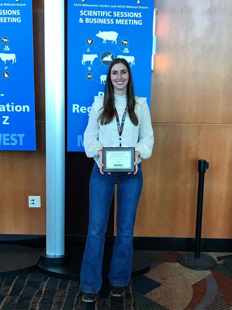 3rd Place Graduate Student Oral Competition PhD: Kirsten Nickles