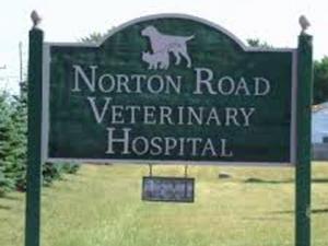 Vet hospital sign