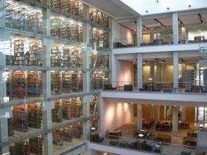 Inside Thompson Library