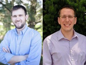 (L. to R.) Dr. Benjamin Wenner and Dr. Benjamin Enger