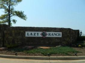 Lazy E Ranch entrance